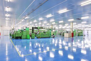 Sector industrial fábrica